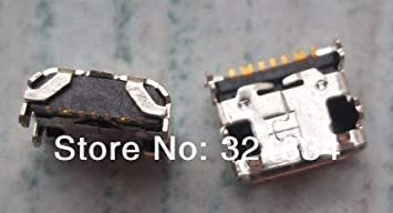 Package: 100pcs Gimax 50pcs//100pcs micro 7pin usb connector for Samsung Galaxy Core Prime G360 G361F Tab E T560 T561