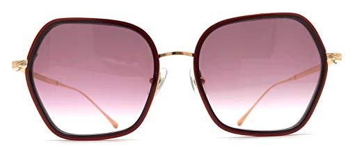 Matsuda M3078 Bordeaux & Rose Gold Large Womens Sunglasses