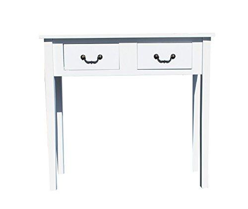 Konsole Tisch Schreibtisch weiss Landhaus *166