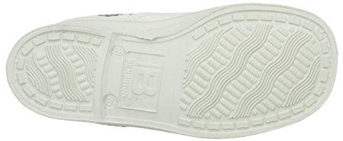 Bensimon Unisex-Kinder Tennis Bandana Sneaker, Blau Blanc (101 Blanc)