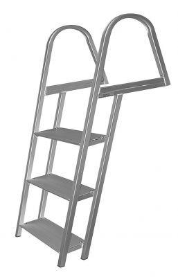 JIF MARINE FDQ3-GA 3-Step Dock Ladder Galvanized