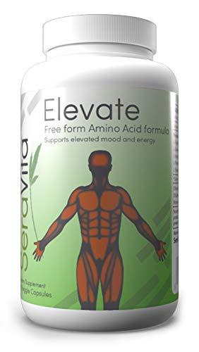 SeraVita Elevate Free-form Amino-acid Formula 90 Veggie Capsules