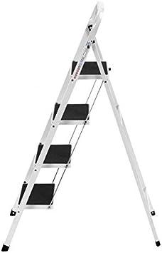 Escalera Plegable portátil de Alta Resistencia con Escalera en Forma de F, Resistente y Ligera, Antideslizante, de la Marca Step La: Amazon.es: Electrónica