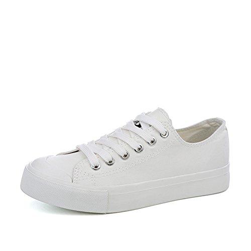 Zapatos de lona de las mujeres del estudiante/Cuatro estaciones con un calzado Vaquero/Zapatos de plataforma de fondo grueso B