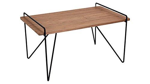 LumiSource Modern Lucan Coffee Table - Black/Walnut ()