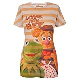 Disney Fitted ''Love My BFF'' Kermit and Fozzy Muppets Top