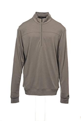 Nike Tiger Woods Pullover - NIKE Tiger Woods Collection Taupe Half Zip Sweatshirt 1/2, Size Medium
