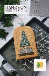 - White Christmas: Zinc House Row Cross Stitch Chart and Free Embellishment