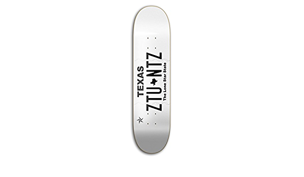 ztuntz skateboards 100/% USA Park Skateboard Deck