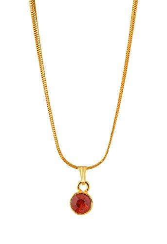 Handicraft Kottage Girl's Gold Plated Pendant (HK-SP-1071) by Handicraft Kottage