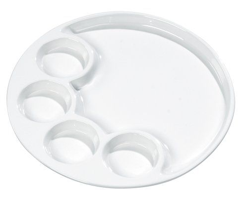 Trudeau Round 10 Inch Fondue Plates, Set of ()