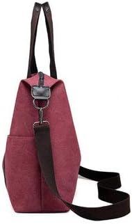 Womens Bags Handbags Coffee Women Canvas Casual Large Capacity Handbag Shoulder Bags Crossbody Bags