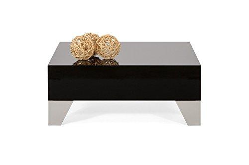 Coffee table high gloss black mod. Evolution 60 by MOBILIFIVER (Gloss Coffee)