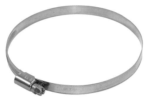 Spannbereich Bandschellen 80 - 330 Rohrschelle Rohrverbindung Schlauch -verbindungs -schelle (115 mm - 130 mm)