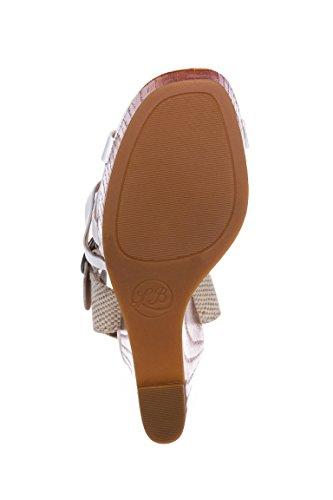 Sandalias vestir Brand mujer para Lucky blanco de 4U5wSnaq
