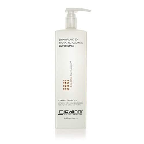 GIOVANNI Smooth As Silk Deeper Moisture Conditioner, 33.8 oz. Calms Frizz, Detangles, Wash & Go, Co Wash, No Parabens…