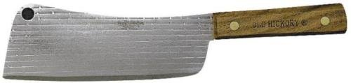 NEW Ontario Knife 76-7 Old Hickory Meat Cleaver 7in Carbon Steel Blade