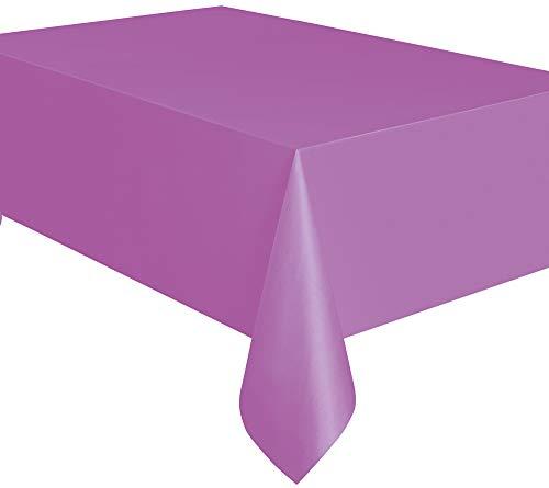 Purple Plastic Tablecloth, 108