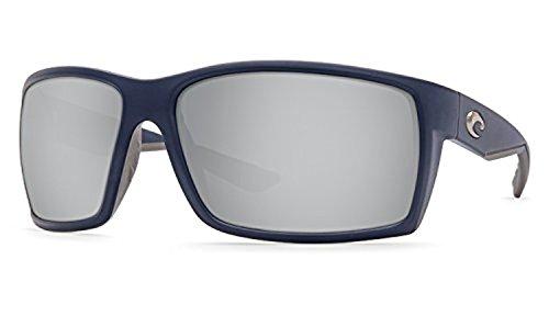 Mirror Costa 580p amp; Reefton Dark Kit Sunglasses Blue Matte Cleaning Bundle Silver qqvCU