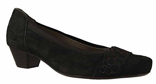 ara 12-42001-01 Brügge - Zapatos de vestir de Piel para mujer Negro - negro