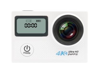 YIKESHU tragbar Dual Display 4 K N5 A WiFi Video Wasserdicht 170 Grad Weitwinkel Len Kamera Unterstützung für Multiplikation Auflösungen Action Sport Kamera