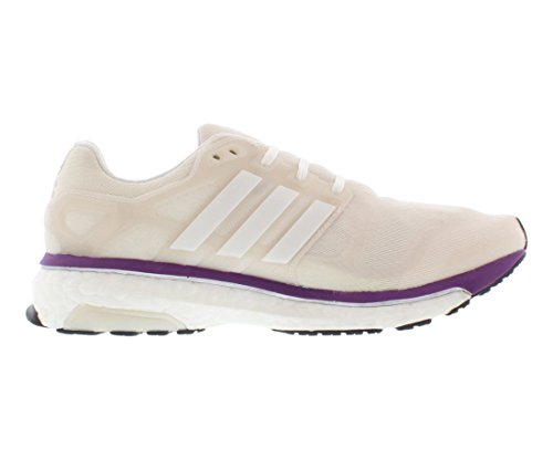 Adidas Energy Boost 2 Women's Running Shoes (11, white/purple)