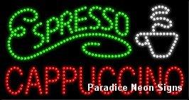 Espresso Cappuccino LED Sign 17 x 32 -