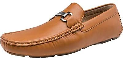 VOSTEY Men's Loafers Lightweight Walking Slip on Loafers Driving Shoes for Men
