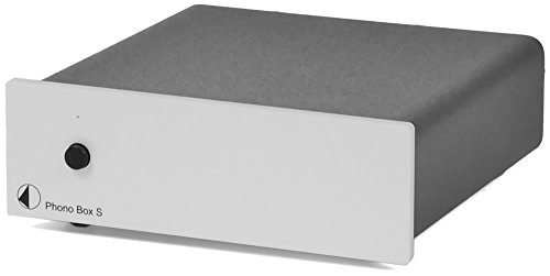 Pro-Ject Audio - Phono Box S - MM/MC phono preamplifier - Silver by Pro-Ject