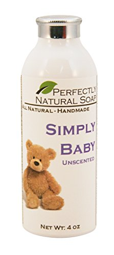 Simply Baby Unscented Talc-Free Powder, 4 oz