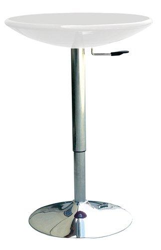 Tisch Einstellbar in Höhe mit Deckel ABS – Amira weiß: Amazon.de ...