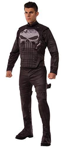 Marvel Men's Universe Deluxe Punisher Costume, Multi, X-Large -