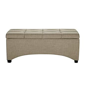 Remarkable Amazon Com Modern Storage Bench Multiple Finishes Ocoug Best Dining Table And Chair Ideas Images Ocougorg
