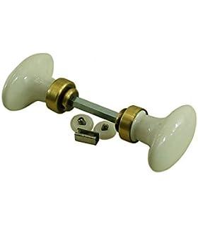 Maniglie In Ceramica Per Porte Interne.Door Tools Doppio Ovale Porta Maniglie Per Porte Interne Porcellana
