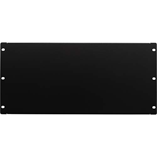 (NavePoint 5U Blank Rack Mount Panel Spacer For 19-Inch Server Network Rack Enclosure Or Cabinet Black)