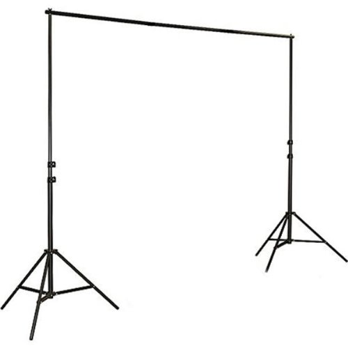 ePhoto 2 x Softbox Daylight Photographic Studio Video Continuous Light Lighting Kit and Muslin Complete Background Stand System HS260BW