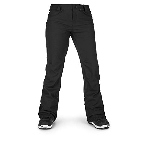 (Volcom Women's Species Stretch Snowpant, Black, Small)