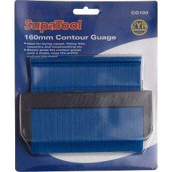 160mm contour Gauge Supa Tool VDTAZ012