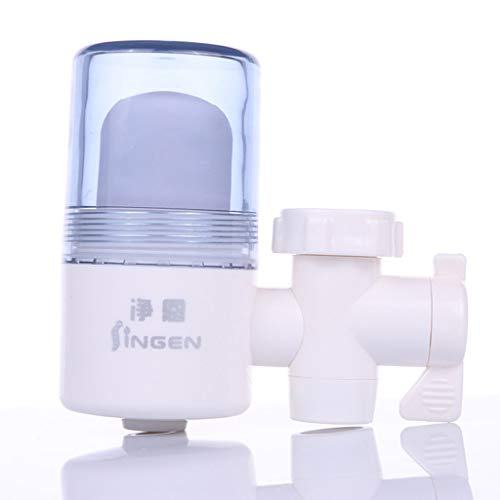 Faucet water purifier, 6 layer filter tap water filter household kitchen water purifier front water filter(Fits Standard Faucets) (Best Technology To Switch From Mainframe)