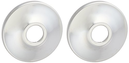 LDR 507 8101 3/8-Inch I.P. or 1/2-Inch Copper Chrome Plated Wall (0.5 Wall Flange)