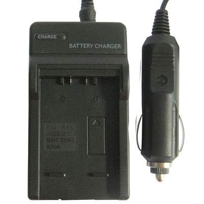 BuyBuyBuy Practical 2 in 1 Digital Camera Battery Charger for Panasonic 002E/ BM7/ S002/ 006E,Input: AC 100V-240V 50/60HZ Max 150mA Beautiful