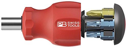 PB Swiss Tools PB-8453 Insider Stubby - SwissGrip - Pb Swiss Precision Screwdriver