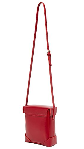 Bag Women's Mini Box Red MANU Pristine Atelier qS7X7wA