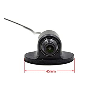 120 Degree Auto Car Rear View Camera for Security Backup Parking, Car backup rear view Camera IP66 Waterproof with Distance scale line No Night Vision