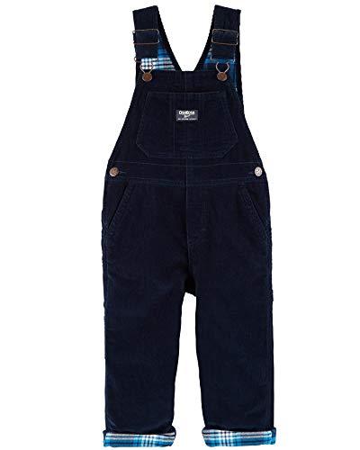 OshKosh B'Gosh Baby Boys' Corduroy Overalls, Blue, 12-18 Months (Blue Corduroy Overalls Boys)
