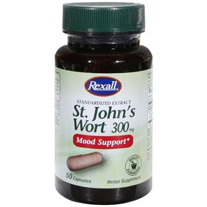 Amazon.com : Rexall St. John\'s Wort 300mg-50 Ct : Stress Reduction ...
