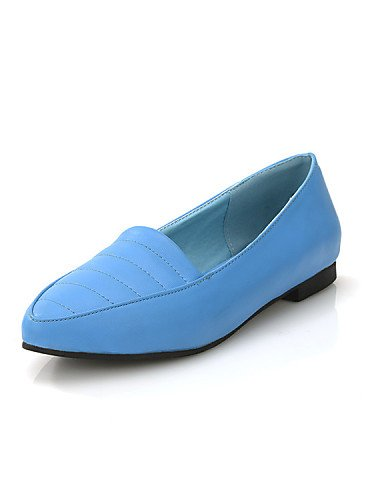Azul De Rojo Puntiagudos us7 Mujer Cn38 Uk5 Beige Beige Tac¨®n Exterior Plano Casual Zapatos Semicuero Comfort Beige Zq Cn39 5 Yyz Planos Uk6 Vestido us8 Eu39 Negro 5 Eu38 xgnwWEfZq6
