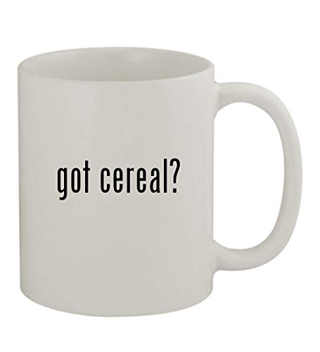 got cereal? - 11oz Sturdy Ceramic Coffee Cup Mug, White