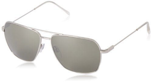 Electric Silver Sunglasses - Electric California Av2 Aviator, Platinum, 164 mm