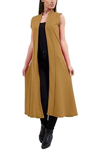Fashion Abrigo mujer Abrigo para Beige Fashion 6vx6fqzwap